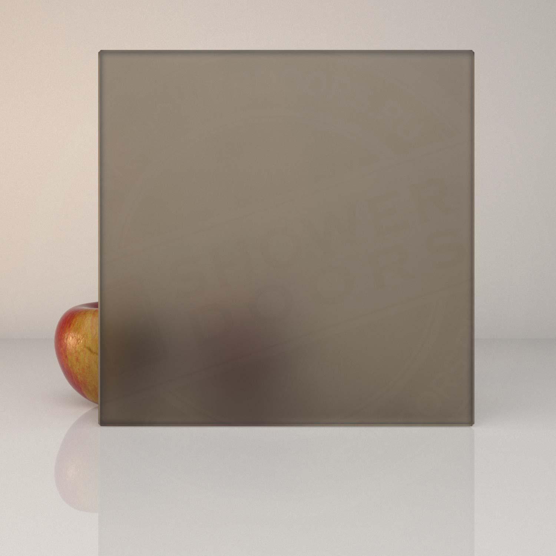 Матовое бронзовое стекло для душевой MATELUX BRONZE 8 mm