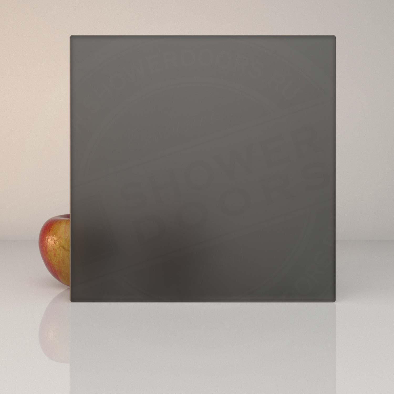 Матовое серое стекло для душевой MATELUX GREY 8 mm