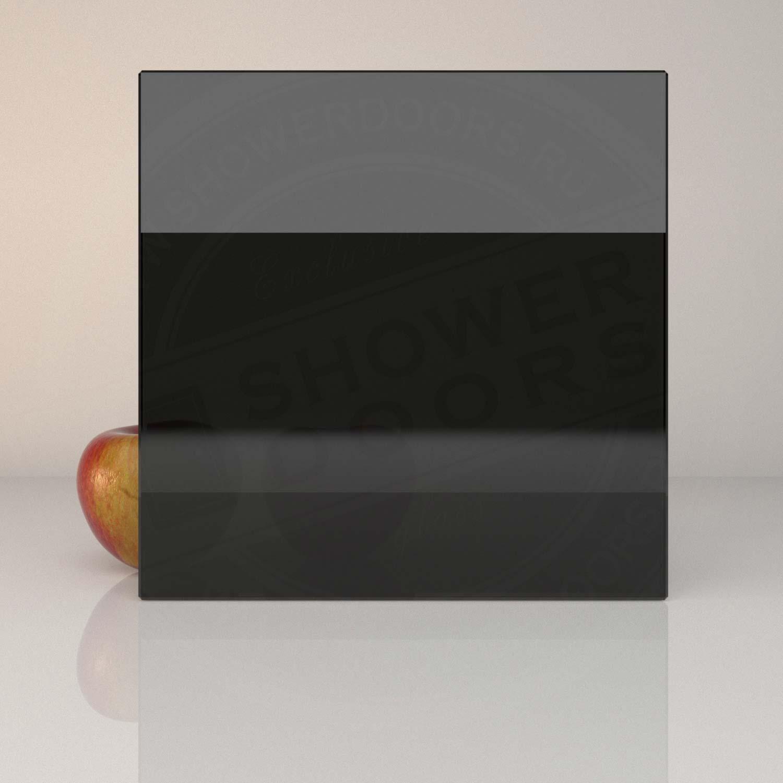 Чёрное стекло для душевой PLANIBEL BLACK 8 mm