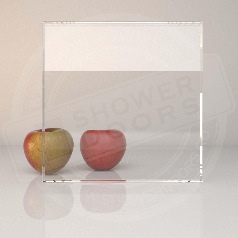 Осветлённое стекло для душевой PLANIBEL CLEARVISION 8 mm
